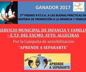 "Premio Buenas Prácticas ""Aprende a Separarte"""