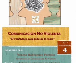 Inscríbete en el Taller de Comunicación No Violenta
