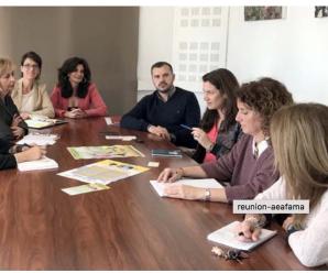 """Los representantes de AEFAMA han felicitado al Ayuntamiento por la puesta en marcha de la campaña """"Aprende a separarte"""""""