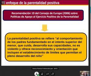 Formación en Parentalidad Positiva